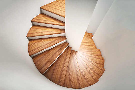 Hardwood Stairs in Peoria IL