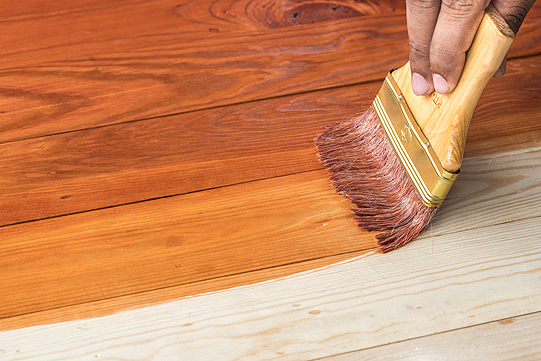 Hardwood Staining in Peoria IL