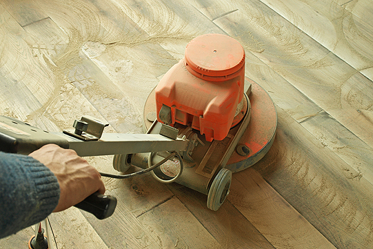Hardwood Floor Sanding in Peoria IL